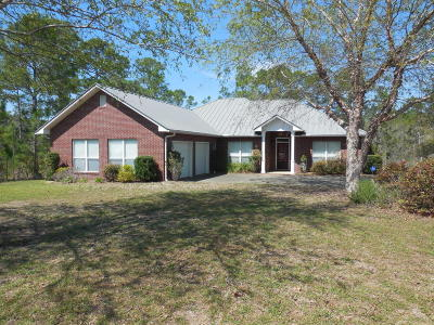 Navarre Single Family Home For Sale: 9436 Bone Bluff Drive