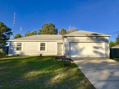 Navarre FL Single Family Home For Sale: $147,000