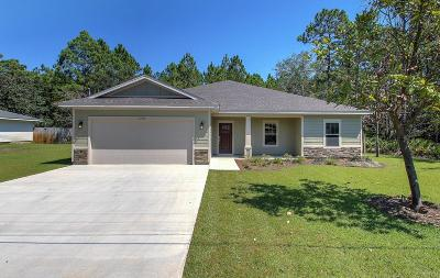 Navarre FL Single Family Home For Sale: $272,500