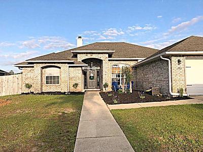 Gulf Breeze Single Family Home For Sale: 1933 Elodie Lane Lane