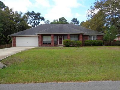 Navarre FL Single Family Home For Sale: $299,000