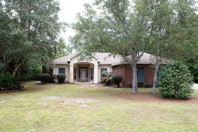 Navarre Single Family Home For Sale: 2781 Holley Club