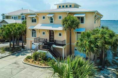 Pensacola Beach Single Family Home For Sale: 19 Seashore Drive
