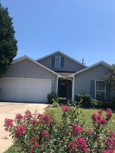Fort Walton Beach Single Family Home For Sale: 1013 Claeven Circle