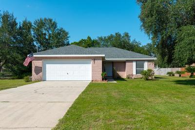 Navarre FL Single Family Home For Sale: $209,900