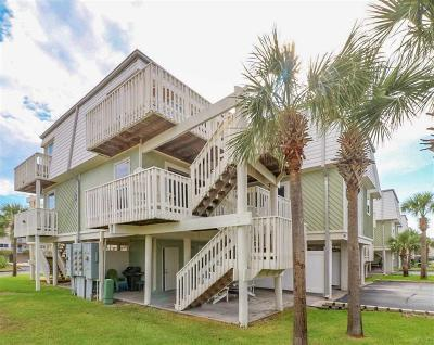 Pensacola Beach Condo/Townhouse For Sale: 1100 Ft Pickens Road #A-28