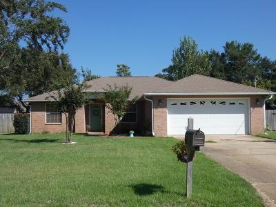 Gulf Breeze Single Family Home For Sale: 1380 Joseph Cir Circle