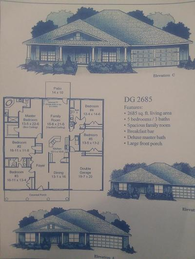 Navarre FL Single Family Home For Sale: $283,346
