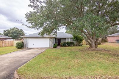 Navarre FL Single Family Home For Sale: $194,500