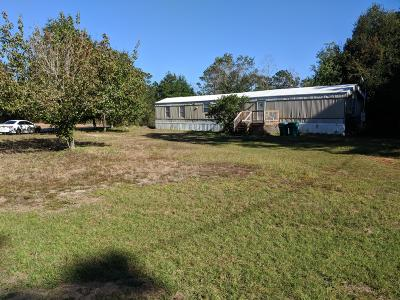 Navarre FL Single Family Home For Sale: $59,000