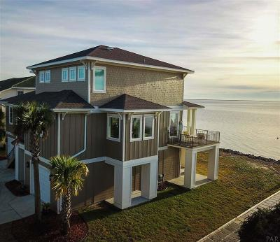 Gulf Breeze Single Family Home For Sale: 325 Deer Point Drive