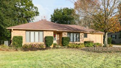 Gulf Breeze Single Family Home For Sale: 309 Valencia Street