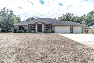 Navarre FL Single Family Home For Sale: $389,000