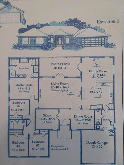 Navarre FL Single Family Home For Sale: $375,742