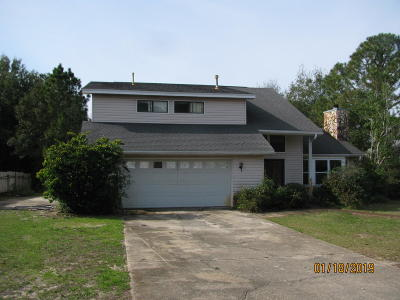 Mary Esther Single Family Home For Sale: 12 Neptune Drive