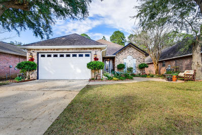 Gulf Breeze FL Single Family Home For Sale: $345,500