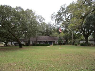 Navarre Single Family Home For Sale: 3525 Bob Tolbert Road