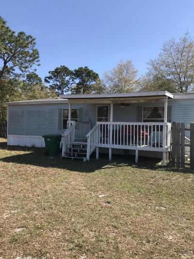 Navarre FL Single Family Home For Sale: $73,500