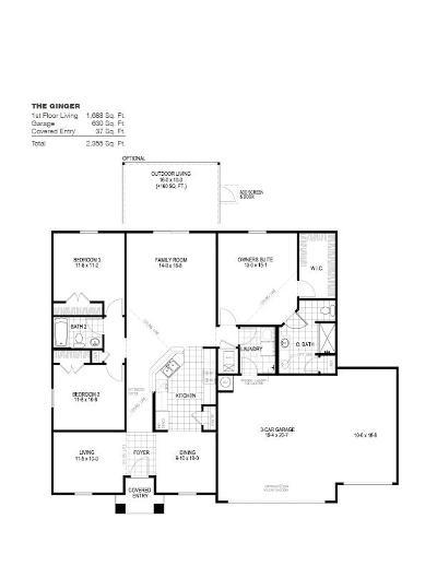 Milton Single Family Home For Sale: 4712 Determination Court #21 L
