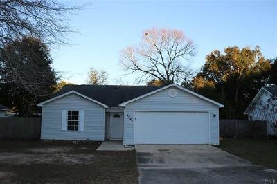 Milton Single Family Home For Sale: 4244 Castille Avenue