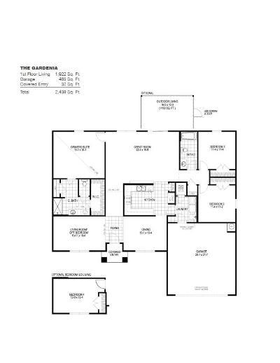 Milton Single Family Home For Sale: 4718 Determination Court #20 L