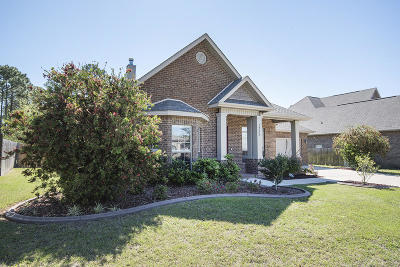 Gulf Breeze Single Family Home For Sale: 1732 Twin Pine Blvd Boulevard