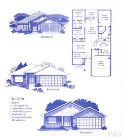 Gulf Breeze Single Family Home For Sale: 2061 Bergren Road