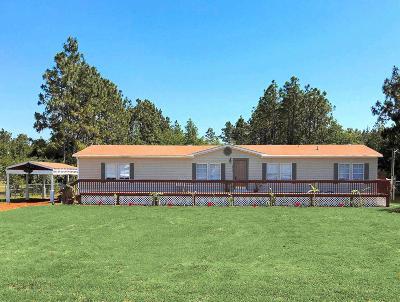 Milton Single Family Home For Sale: 8585 Hickory Hammock Road