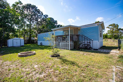 Navarre FL Single Family Home For Sale: $79,000