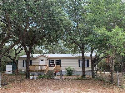 Navarre FL Single Family Home For Sale: $124,900