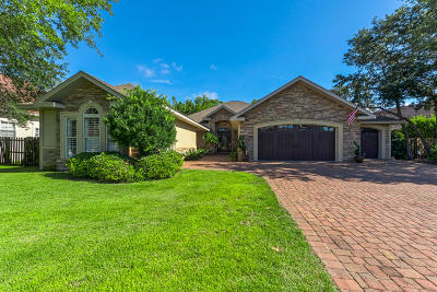 Gulf Breeze Single Family Home For Sale: 5302 Woodlake