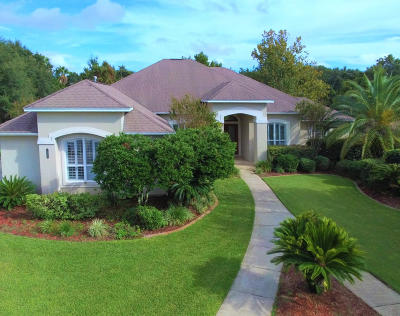 Gulf Breeze Single Family Home For Sale: 2566 Sylte Lane