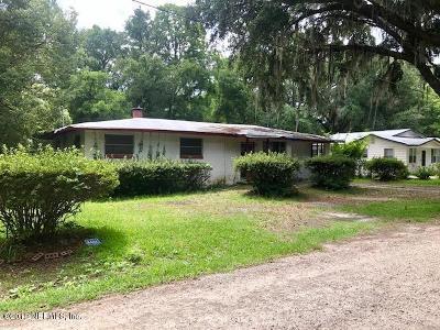 Lawtey Single Family Home For Sale: 22585 NE 3rd St