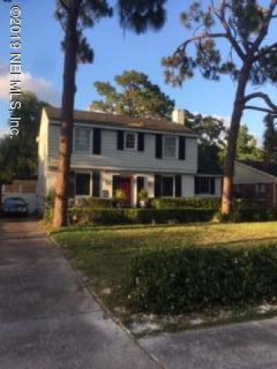 Jacksonville Single Family Home For Sale: 4275 San Jose Blvd