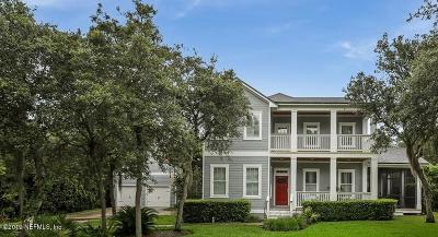 St Augustine Single Family Home For Sale: 318 Sophia Ter