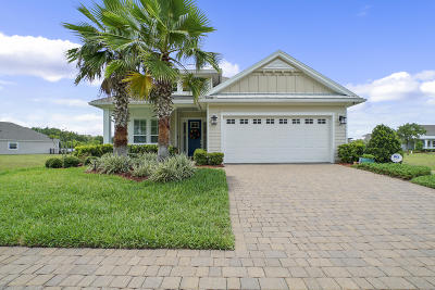 Fernandina Beach Single Family Home For Sale: 85061 Floridian Dr