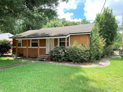 Jacksonville Single Family Home For Sale: 1300 Hamilton St