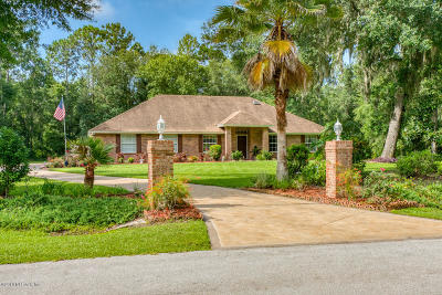 St Augustine Single Family Home For Sale: 8113 River Pointe Ct