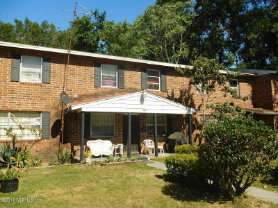 Jacksonville Townhouse For Sale: 1749 Powhattan St