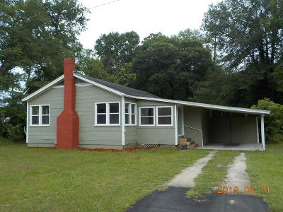 Macclenny FL Single Family Home For Sale: $93,000