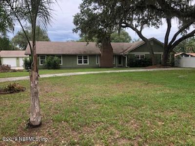 Jacksonville, St Johns Single Family Home Auction: 1256 Tangerine Dr