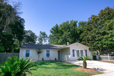 Jacksonville Single Family Home For Sale: 2570 Stern Dr