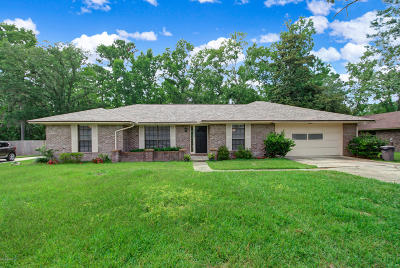 Jacksonville Single Family Home For Sale: 3428 Hidden Lake Dr W
