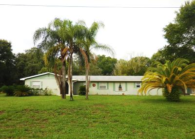 St Augustine Single Family Home For Sale: 3931 Barbara Ter