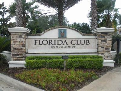 St. Johns County Condo For Sale: 550 Florida Club Blvd #307