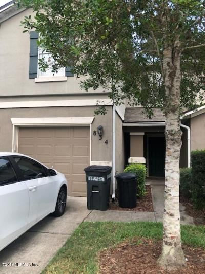 St. Johns County Townhouse For Sale: 834 Black Cherry Dr S