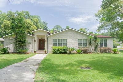 Jacksonville Single Family Home For Sale: 1371 St Elmo Dr
