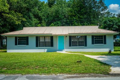 Keystone Heights Single Family Home For Sale: 377 SE 42 St