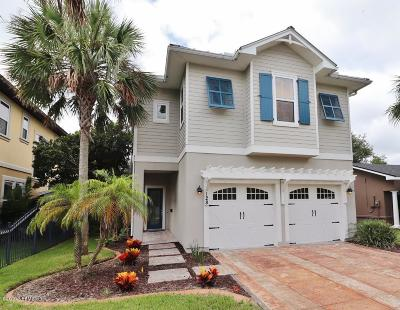 Jacksonville Beach Single Family Home For Sale: 128 36th Ave S