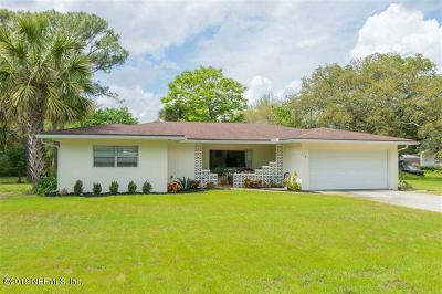 32080 Single Family Home For Sale: 14 Coquina Blvd